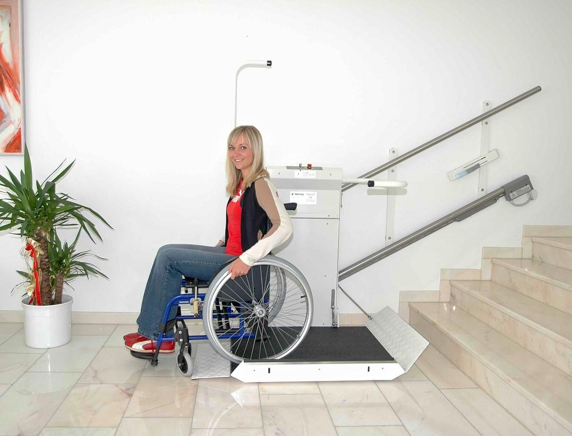 Hebe- & Arbeitsbühnen Business & Industrie UnabhäNgig Rollstuhllift Fahrstuhl Plattformlift Treppenlift Rollstuhl HebebÜhne Lift