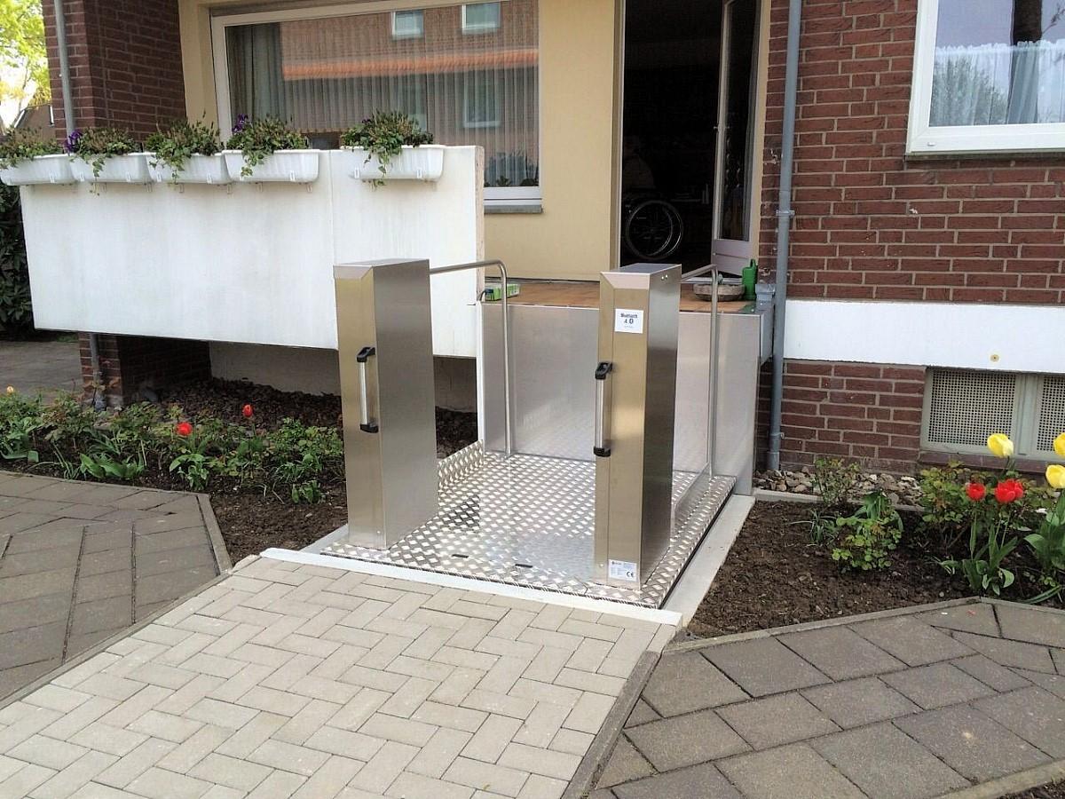 Hebe- & Arbeitsbühnen Mobilitäts- & Gehhilfen Rollstuhllift Bis 119 Cm HebebÜhne Fahrstuhl Plattformlift Treppenlift Lift