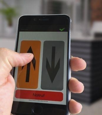 Smartphone Steuerung