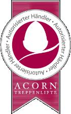 Händler-Zertifikat von Acorn-Stairlifts
