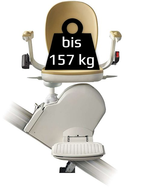 Schwerlast-Treppenlift - kg