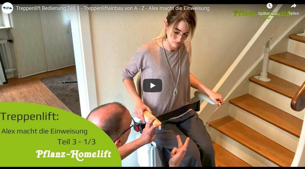 Video - Treppenlift Einweisung und Funktionen
