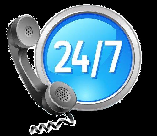 24/7 Service Hotline